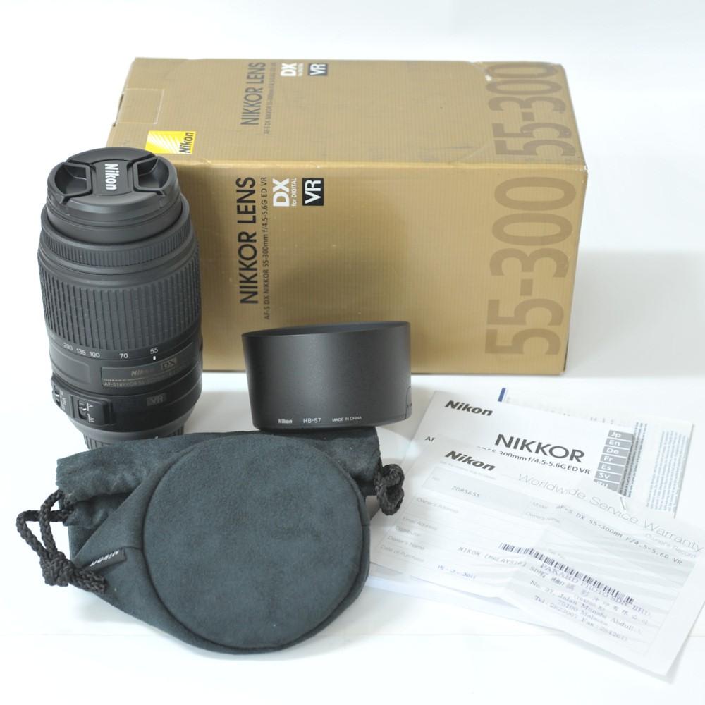 Nikon Af S Dx Nikkor 55 300mm F 45 56g Ed Vr Lente Zoom Outras Imagens Deste Produto